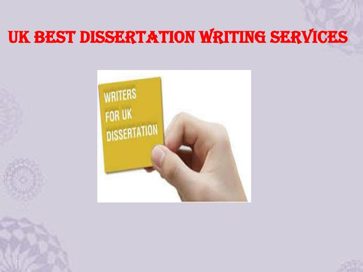 Uk Dissertation Writing
