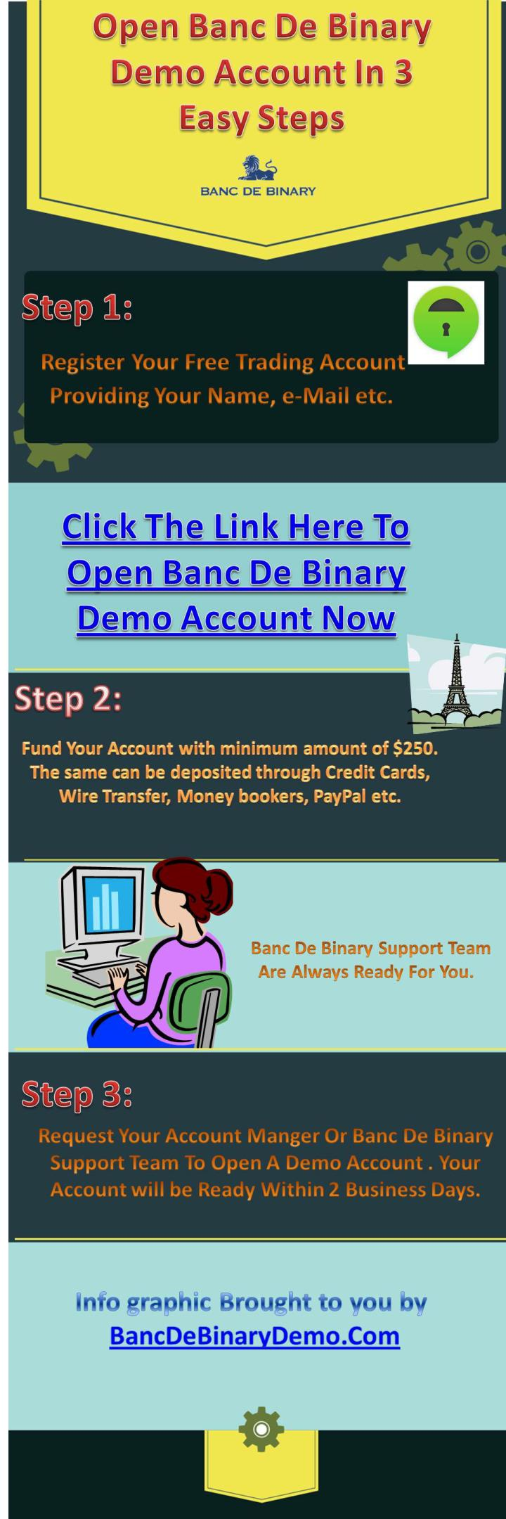 Banc de binary demo account the key to your success