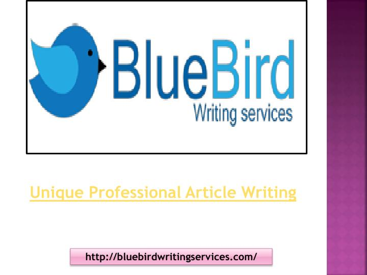 professional article writing services