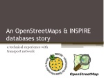 An OpenStreetMaps & INSPIRE databases story