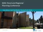 MAV: Rural and Regional Planning Conference