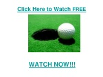 Transitions Championship 2011 live Streaming online HD Video