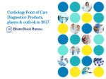 Cardiology Point of Care Diagnostics: Products, players & ou