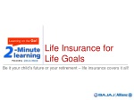 Life Insurance goals - pension plan