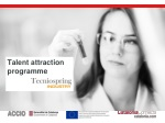 Talent attraction programme