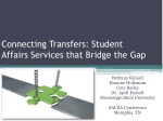 Connecting Transfers: Student Affairs Services that Bridge the Gap