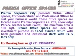 Premia Office Spaces Greater Noida @ 09999684905