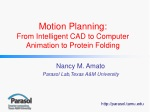 Motion Planning: From Intelligent CAD to Computer Animation to Protein Folding