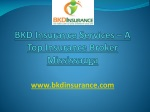 BKD Insurance Services in Mississauga