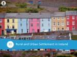 Rural and Urban Settlement in Ireland