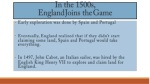 In the 1500s, England Joins the Game