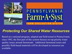 Protecting Our Shared Water Resources