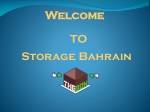 Best Storage & Moving Company In Bahrain