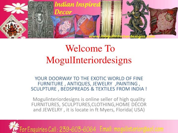 Ppt Indian Inspired Decor Powerpoint Presentation Free Download Id 1174638