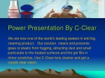 Get Crystal Clear Vision Lens Cleaner from C-Clear