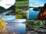 Freshwater Ecosystems: Streams, Rivers, Lakes, Ponds, Wetlands