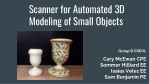 S canner for Automated 3D Modeling of Small Objects