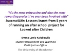 Emma Lewis-Kalubowila Student Recruitment and Widening Participation Officer