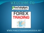 Forex trading for Nigerians