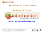 Cheap Flights to Dubai with Globehunters