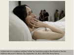The work of Ron Mueck