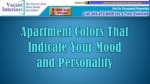 Apartment Colors That Indicate Your Mood  and Personality