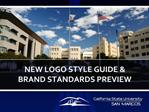 NEW LOGO STYLE GUIDE BRAND STANDARDS PREVIEW
