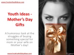 Youth Ideas - Mother's Day Gifts