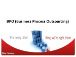 History of BPO (Business Process Outsourcing)