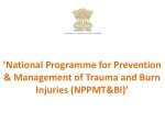' National Programme for Prevention & Management of Trauma and Burn Injuries (NPPMT&BI)'