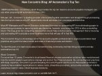New Corcentric Blog: AP Automation's Top Ten