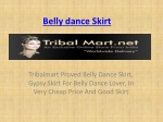 Belly dance Skirt