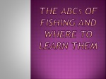 The ABCs of Fishing and Where to Learn Them