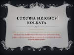 Luxuria Heights Kolkata, Luxuria Heights, Luxuria Heights Sa
