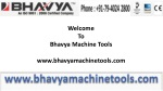 Workshop Machinery for Metal Working by Bhavya Machine Tools