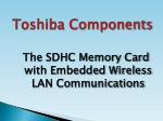 Toshiba Flashair Wireless SD Card
