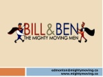 Bill & Ben The Mighty Moving Men