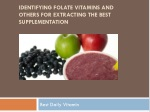 Identifying Folate Vitamins And Others For Extracting The Be