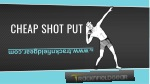 cheap shot put