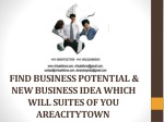 FIND BUSINESS POTENTIAL