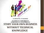 START YOUR OWN BUSINESS WITHOUT TECHNICAL KNOWLEDGE