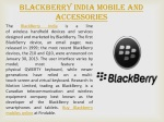 Locate Blackberry India Mobiles stores in India near you and
