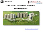 Tata Ariana residential project in Bhubaneshwar
