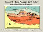 Chapter 10 - Early Paleozoic Earth History Cambrian Silurian Periods