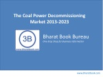 The Coal Power Decommissioning Market 2013-2023