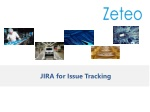 Using JIRA Software for Issue Tracking