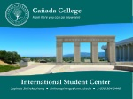 Cañada College From here you can go anywhere