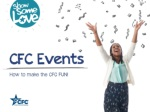 CFC Events