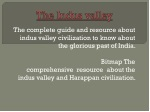 The indus valley civilizations