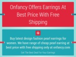 Buy Cheap Fashion Earrings For Girls At Best Price